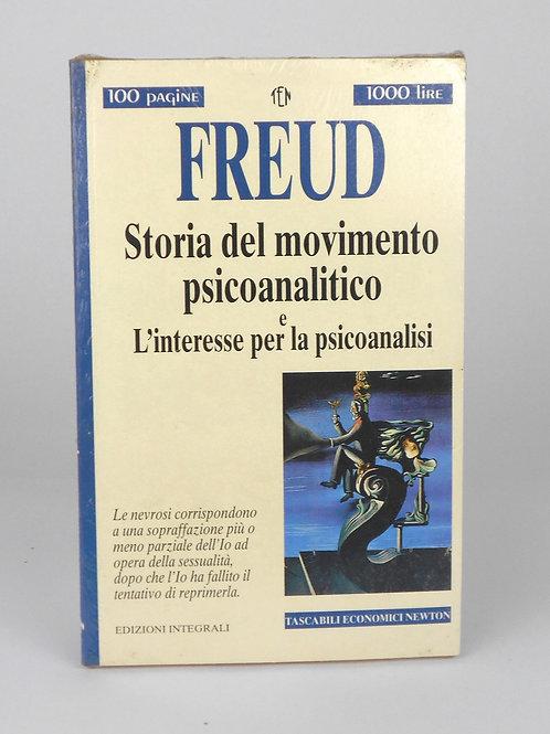 """BOOKS Tascabili Newton n°208 """"FREUD - Storia del movimento psicoanalitico"""""""