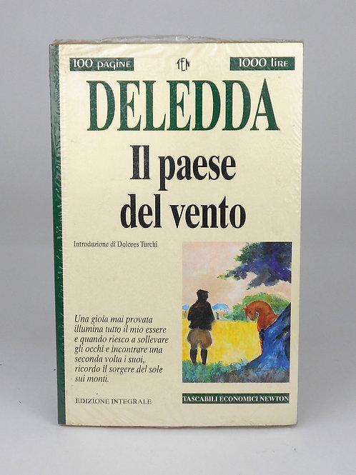"""BOOKS Tascabili Newton n°216 """"DELEDDA - Il paese del vento"""""""