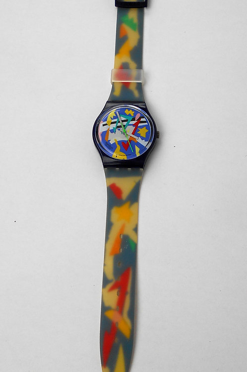 VCW SWATCH SILVER PATCH watch 1993