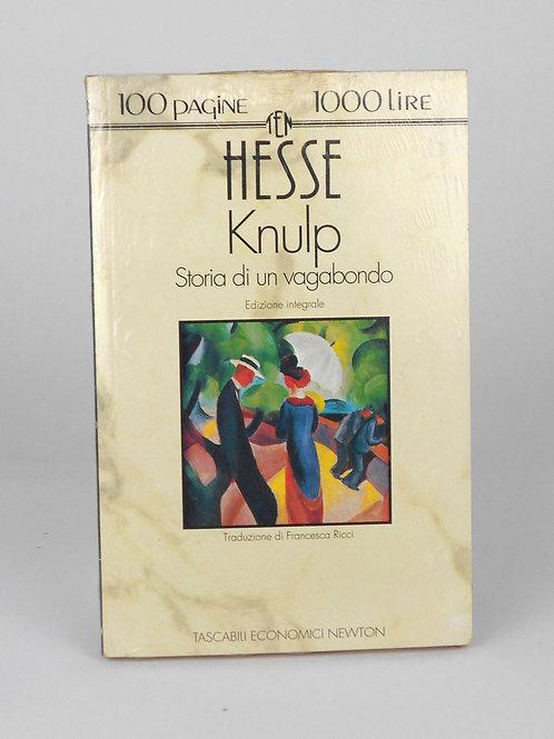 """BOOKS Tascabili Newton N°28 """"HESSE - Knulp"""""""