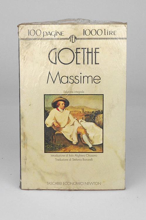 "BOOKS Tascabili Newton n°172 ""GOETHE - Massime"""