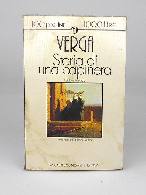 "BOOKS Tascabili Newton n°63 ""VERGA - storia di una capinera"""