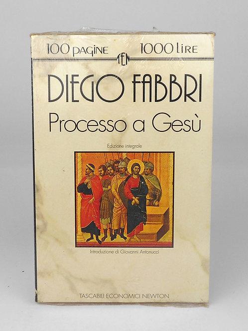 "BOOKS Tascabili Newton n°144 ""FABBRI - Processo a Gesù"""