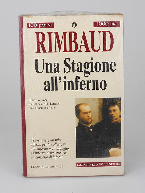 "BOOKS Tascabili Newton n°215 ""RIMBAUD - Una stagione all'inferno"""