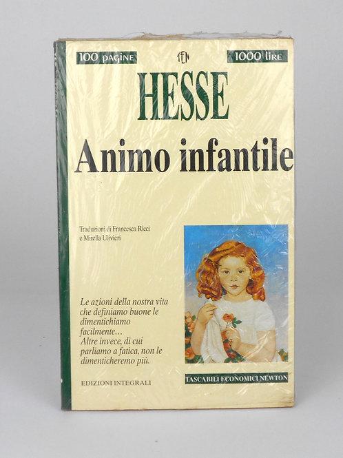 "BOOKS Tascabili Newton n°241 ""HESSE - Animo infantile"""
