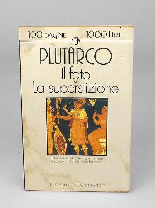 """BOOKS Tascabili Newton n°62 """"PLUTARCO - Il Fato; La superstizione"""""""