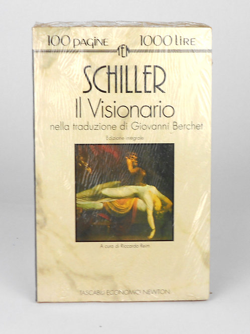 """BOOKS Tascabili Newton N°111 """"SCHILLER - Il Visionario"""""""