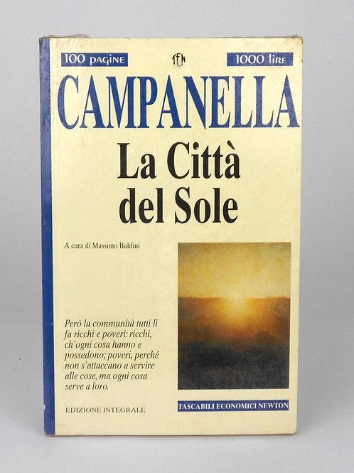 """BOOKS Tascabili Newton n°228 """"CAMPANELLA - La Città del Sole"""""""