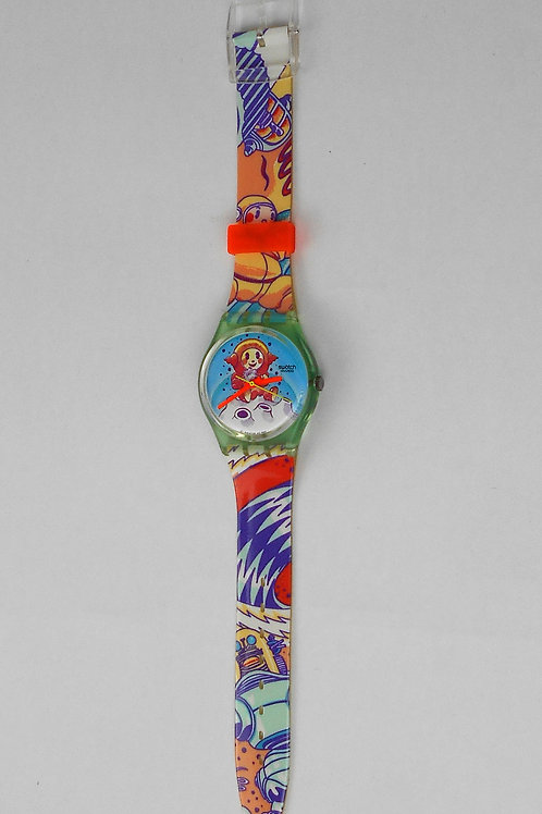"VCW SWATCH watch ""YURI GG118"" 1991/92"