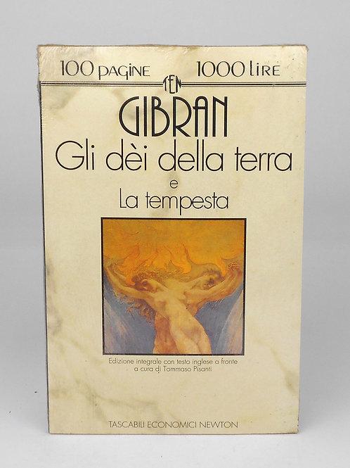 """BOOKS Tascabili Newton n°94 """"GIBRAN - Gli Dèi della terra"""""""