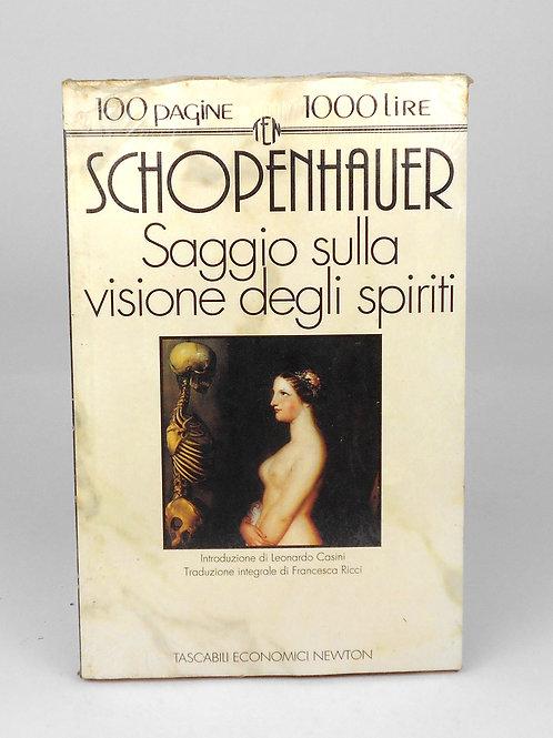"""BOOKS Tascabili Newton n°83 """"SHOPENHAUER -Saggio sulla visione degli spiriti"""""""