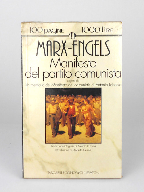 "BOOKS Tascabili Newton N°126 ""MARX-ENGELS - Manifesto partito comunista"""
