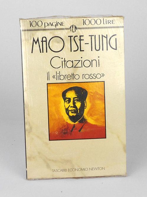 "BOOKS Tascabili Newton N°155 ""MAO TSE TUNG - Citazioni"""