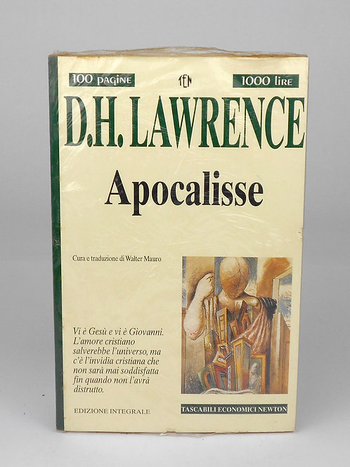 "BOOKS Tascabili Newton n°245 ""D.H.LAWRENCE - Apocalisse"""