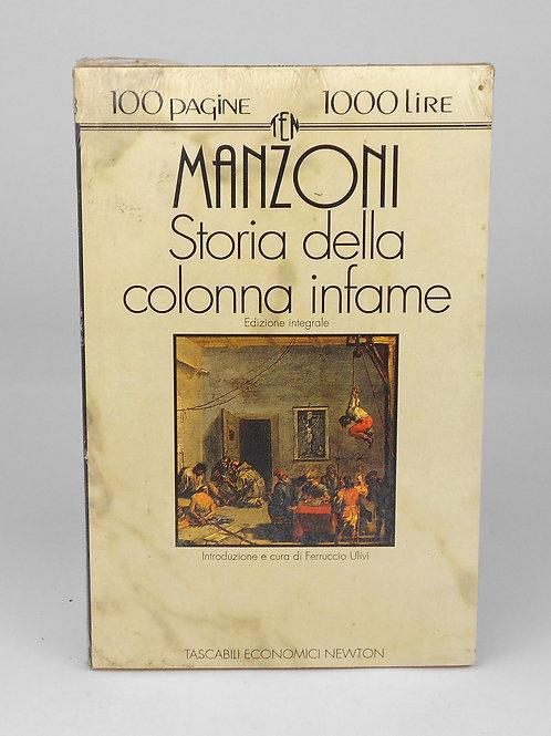"""BOOKS Tascabili Newton n°93 """"MANZONI - Storia della colonna infame"""""""