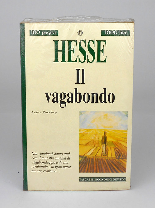 """BOOKS Tascabili Newton n°201 """"HESSE - Il vagabondo"""""""