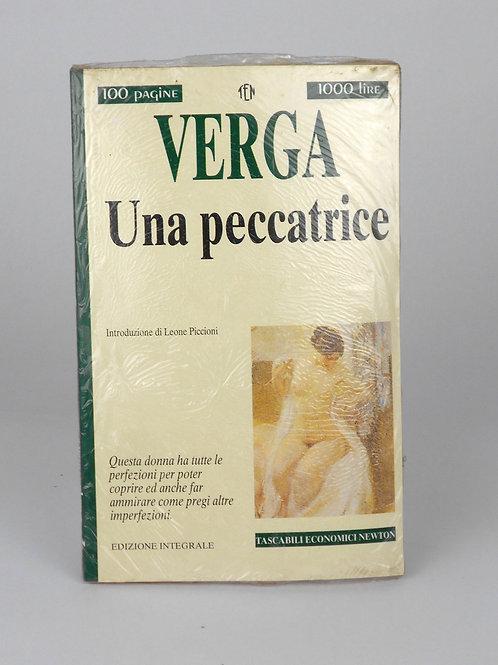 "BOOKS Tascabili Newton n°223 ""VERGA - Una peccatrice"""