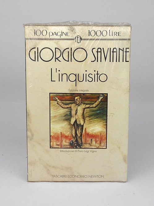 """BOOKS Tascabili Newton n°161 """"G. SAVIANE - L'inquisito"""""""