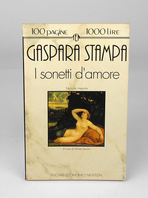 "BOOKS Tascabili Newton n°134 ""G. STAMPA - I sonetti d'amore"""