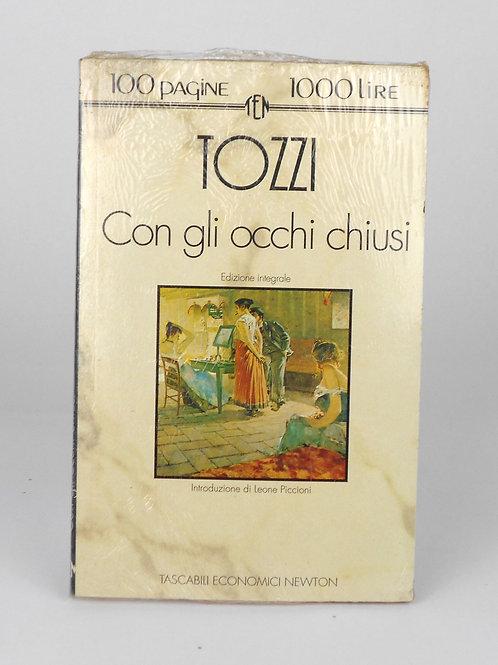 """BOOKS Tascabili Newton n°192 """"TOZZI - Con gli occhi chiusi"""""""