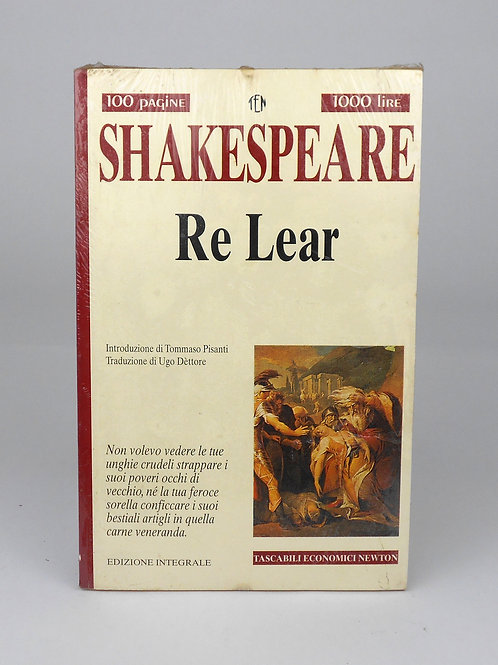"BOOKS Tascabili Newton n°205 ""SHAKESPEARE - Re Lear"""
