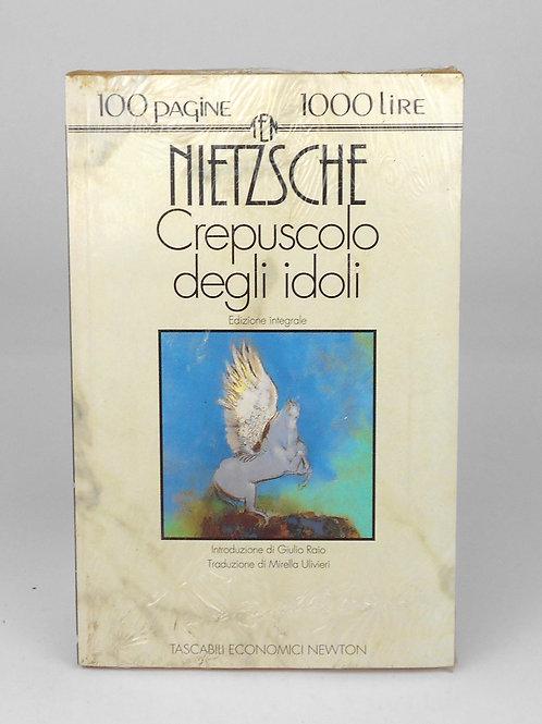 """BOOKS Tascabili Newton n°169 """"NIETZSCHE - Crepuscolo degli idoli"""""""