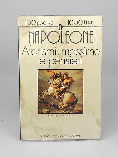 "BOOKS Tascabili Newton n°75 ""NAPOLEONE - Aforismi, massime, pensieri"""