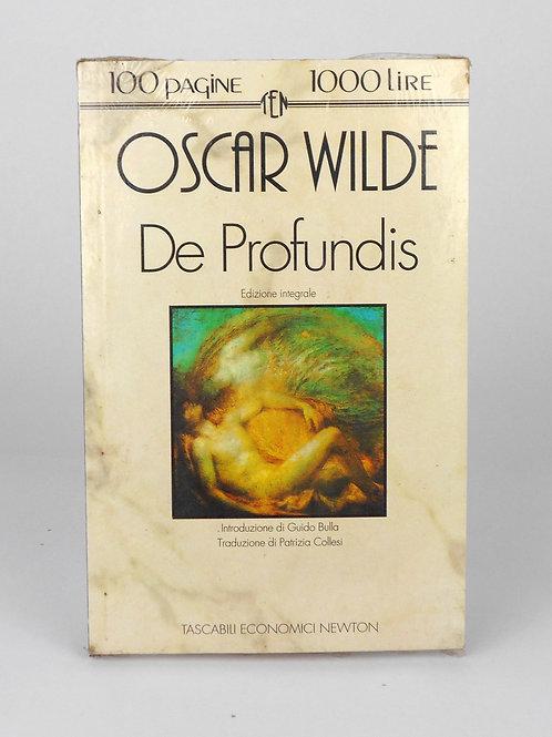 """BOOKS Tascabili Newton N°156 """"OSCAR WILDE - De Profundis"""""""