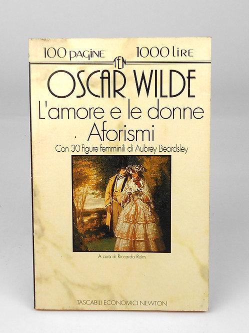 "BOOKS Tascabili Newton n°136 ""OSCAR WILDE - L'amore e le donne; Aforismi"""