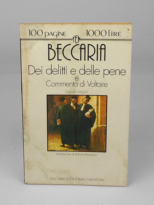 """BOOKS Tascabili Newton n°194 """"BECCARIA - Dei delitti e delle pene"""""""