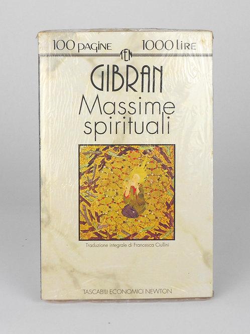 """BOOKS Tascabili Newton N°47 """"GIBRAN - Massime spirituali"""""""