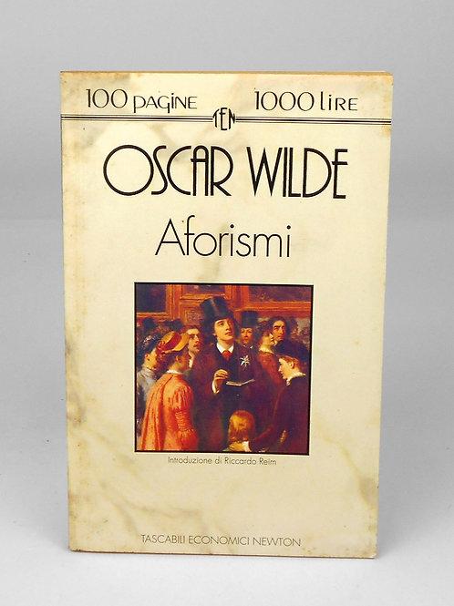 """BOOKS Tascabili Newton n°21 """"OSCAR WILDE - Aforismi"""""""""""