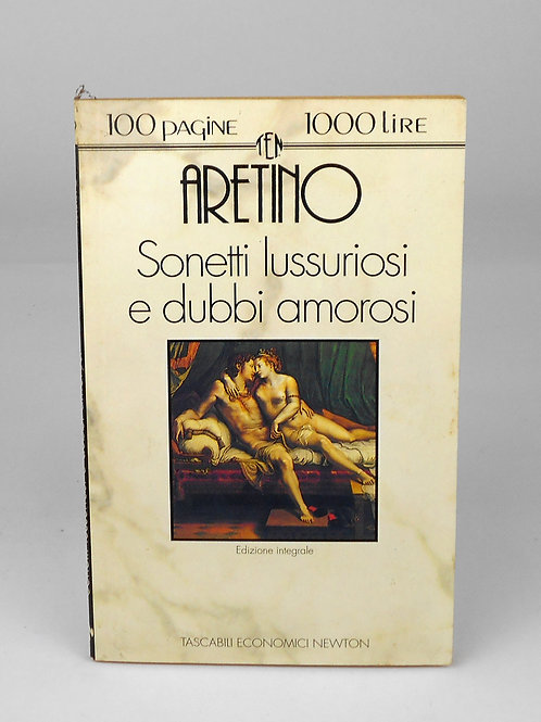 "BOOKS Tascabili Newton n°19 ""ARETINO - Sonetti lussuriosi"""
