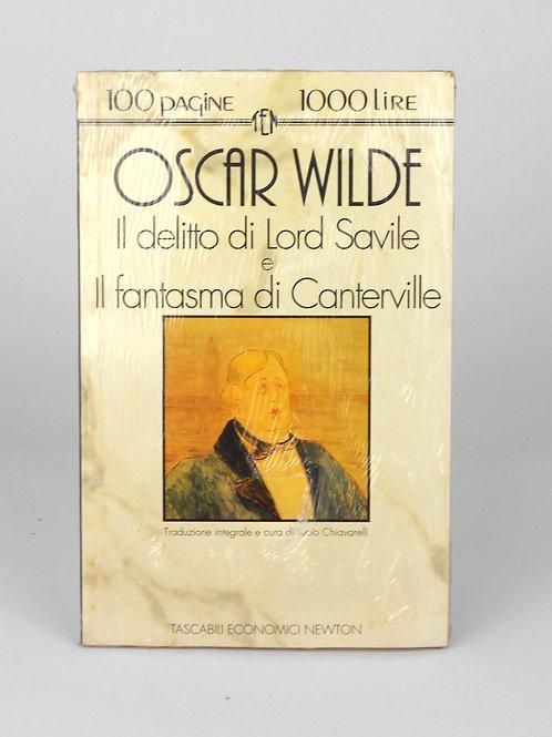 """BOOKS Tascabili Newton N°70 """"O. WILDE - Il delitto di Lord Savile"""""""