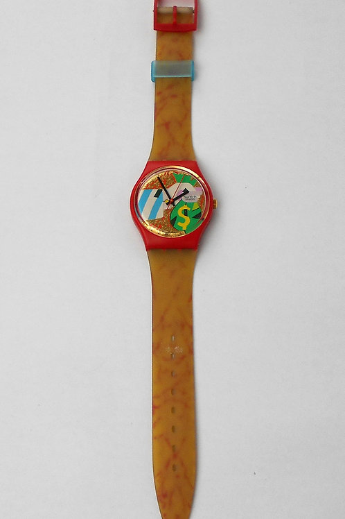 VCW SWATCH COLLAGE DORE 'watch GR116-1993