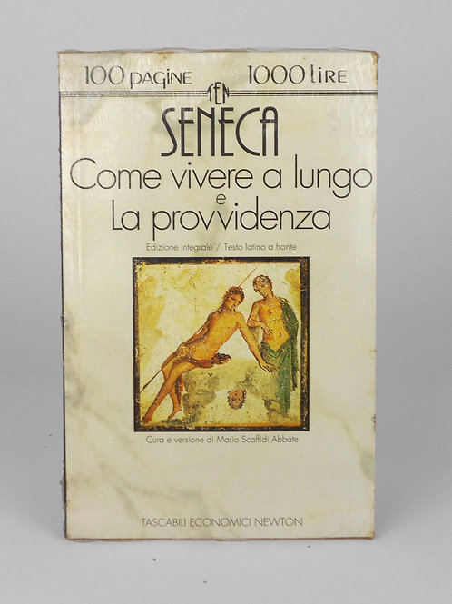 """BOOKS Tascabili Newton N°86 """"SENECA - Come vivere a lungo, e..."""""""
