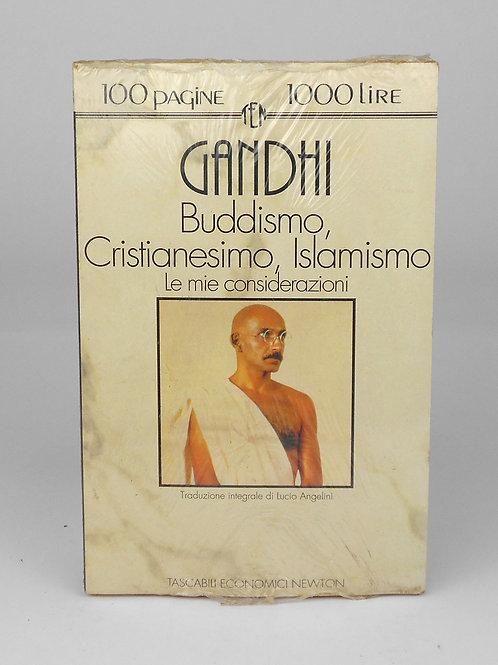 "BOOKS Tascabili Newton n°98 ""GANDHI - Buddismo, Cristianesimo, Islam"""
