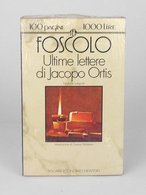 "BOOKS Tascabili Newton N°108 ""FOSCOLO - Ultime lettere di Jacopo Ortis"""