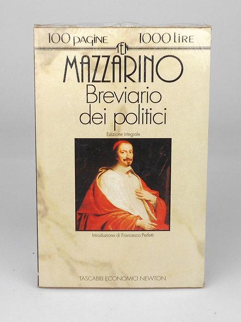 """BOOKS Tascabili Newton n°141 """"MAZZARINO - Breviario dei politici"""""""