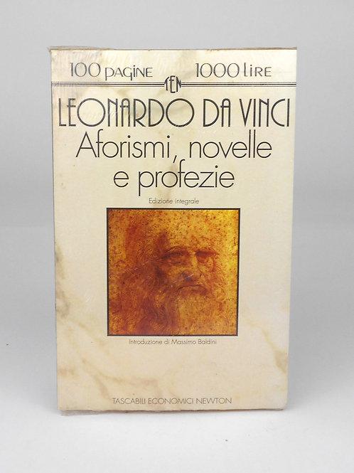 """BOOKS Tascabili Newton n°103 """"L. DA VINCI - Aforismi, novelle, profezie"""""""