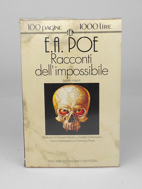 """BOOKS Tascabili Newton n°146 """"E.A. POE - Racconti dell'impossibile"""""""