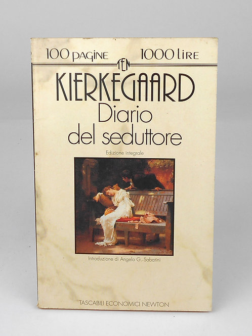 "BOOKS Tascabili Newton n°92 ""KIERKEGAARD - Diario del seduttore"""