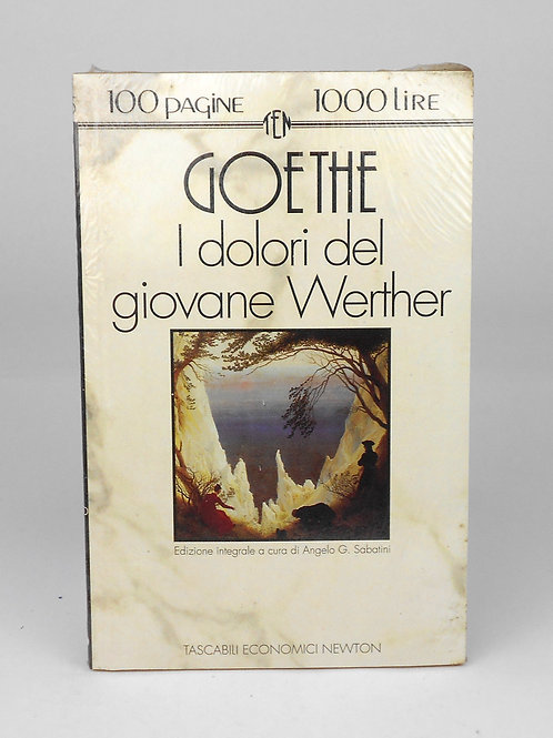 "BOOKS Tascabili Newton n°85 ""GOETHE - I dolori del giovane Werther"""
