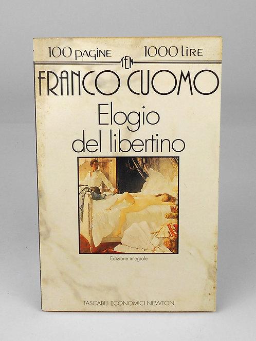 """BOOKS Tascabili Newton n°77 """"F.CUOMO - Elogio del libertino"""""""