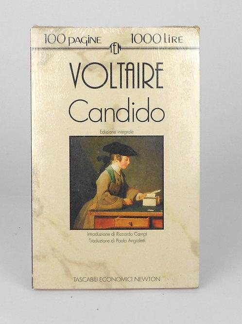 """BOOKS Tascabili Newton n°186 """"VOLTAIRE - Candido"""""""