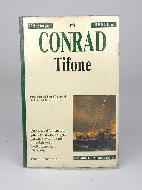 "BOOKS Tascabili Newton n°218 ""CONRAD - Tifone"""