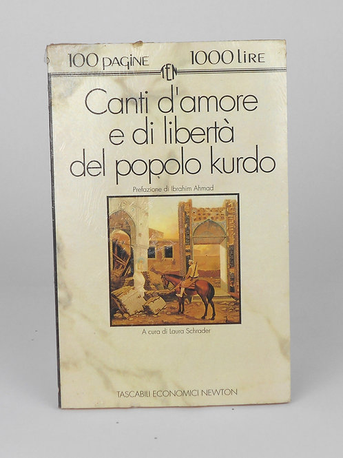 """BOOKS Tascabili Newton N°99 """"Canti d'amore e di libertà del popolo Kurdo"""""""