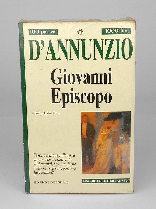 "BOOKS Tascabili Newton n°202 ""D'ANNUNZIO - Giovanni Episcopo"""