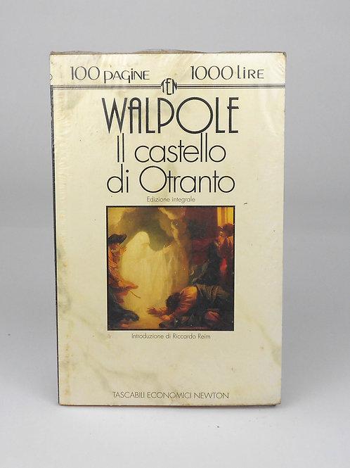"""BOOKS Tascabili Newton n°36 """"WALPOLE - Il castello di Otranto"""""""