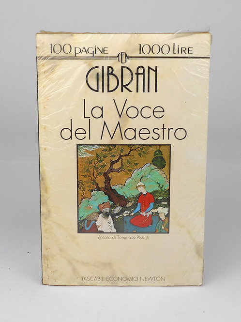 """BOOKS Tascabili Newton n°5 """"GIBRAN - La Voce del Maestro"""""""